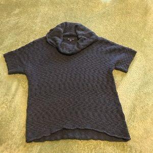 Gap Short Sleeved Cowl Neck Sweater